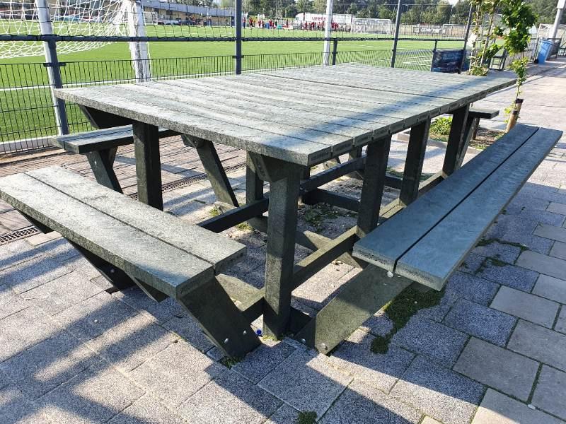 GreenMatter teamtafel Sportpark Bijlmer