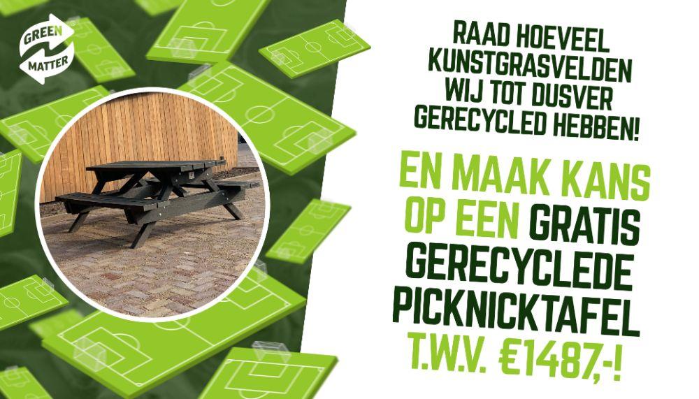 picknicktafel actie greenmatter